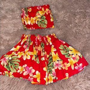 Hawaiian style outfit